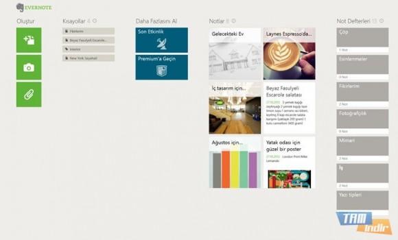 Evernote Touch Ekran Görüntüleri - 3