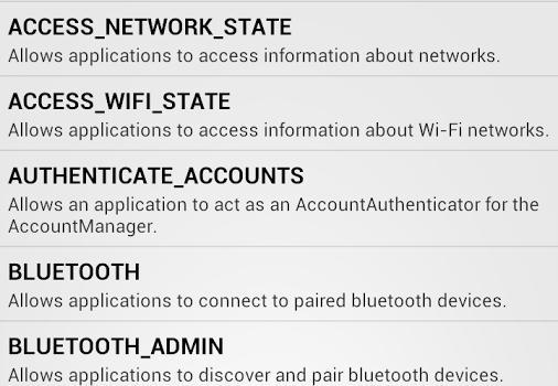 F-Secure App Permissions Ekran Görüntüleri - 1