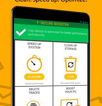 F-Secure Booster Ekran Görüntüleri - 4