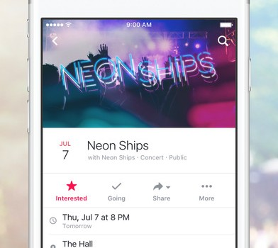 Facebook Events Ekran Görüntüleri - 5