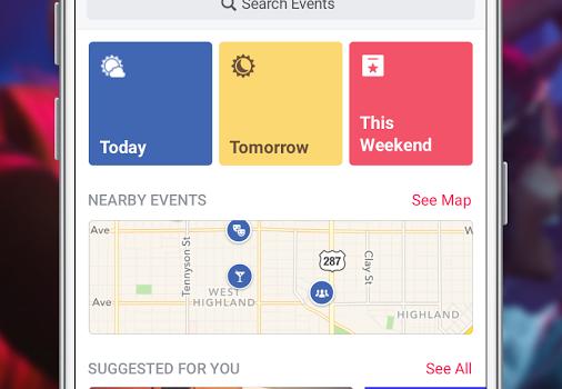 Facebook Events Ekran Görüntüleri - 4