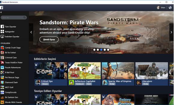 Facebook Gameroom Ekran Görüntüleri - 3