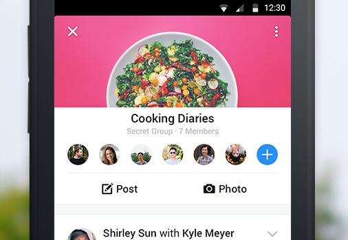 Facebook Groups Ekran Görüntüleri - 2