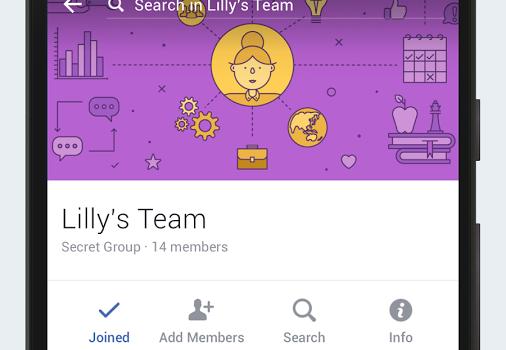 Facebook Workplace Ekran Görüntüleri - 4