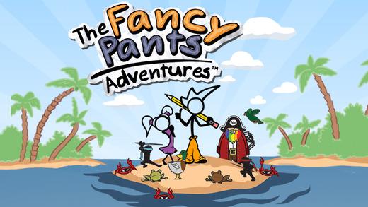 Fancy Pants Adventures Ekran Görüntüleri - 5