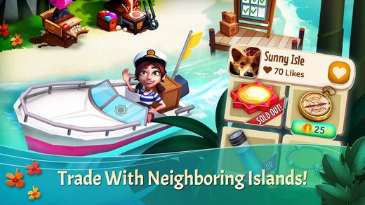 FarmVille: Tropic Escape Ekran Görüntüleri - 1