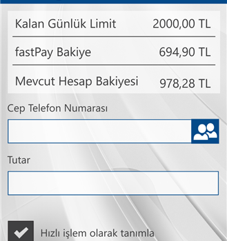 fastPay Ekran Görüntüleri - 4