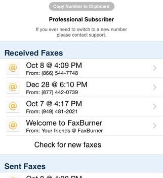 Fax Burner Ekran Görüntüleri - 5