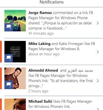 FB Pages Manager Ekran Görüntüleri - 3