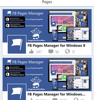 FB Pages Manager Ekran Görüntüleri - 2