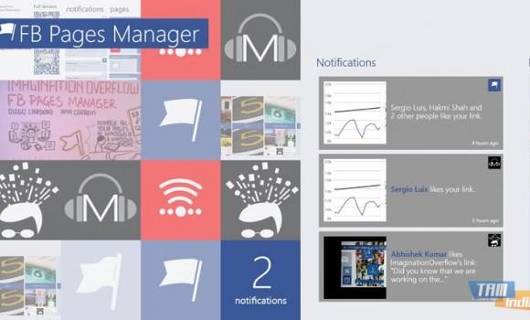 FB Pages Manager Ekran Görüntüleri - 1