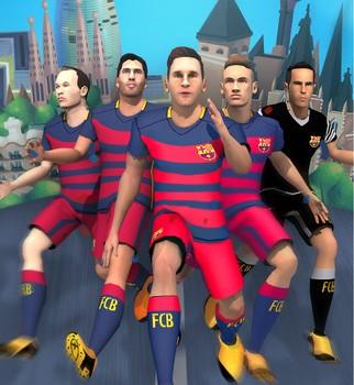 FC Barcelona Ultimate Rush Ekran Görüntüleri - 1