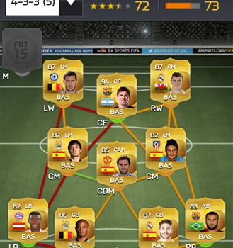 FIFA 15 Companion Ekran Görüntüleri - 3
