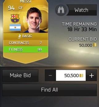 FIFA 15 Companion Ekran Görüntüleri - 1