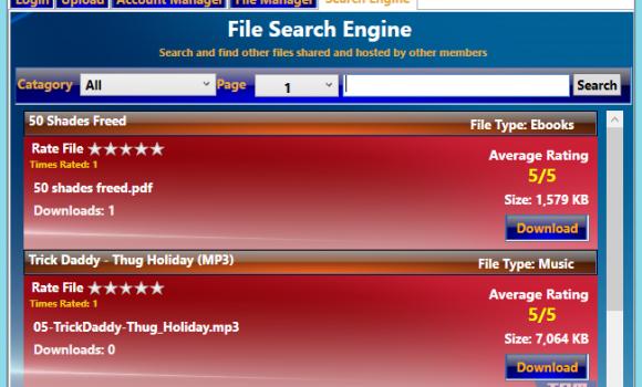 File Streamers Easy Uploads Ekran Görüntüleri - 1