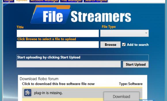 File Streamers Easy Uploads Ekran Görüntüleri - 2