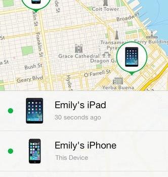 Find My iPhone Ekran Görüntüleri - 1