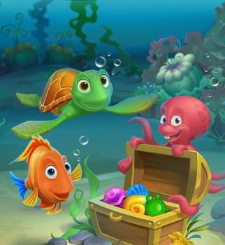 Fishdom: Deep Dive Ekran Görüntüleri - 1
