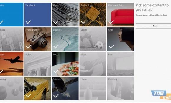 Flipboard Ekran Görüntüleri - 2