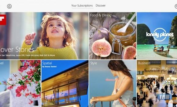 Flipboard Ekran Görüntüleri - 1