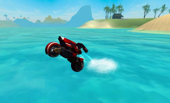 Flying Motorcycle Simulator Ekran Görüntüleri - 1