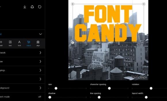 Font Candy Ekran Görüntüleri - 3