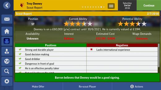 Football Manager Mobile 2017 Ekran Görüntüleri - 3