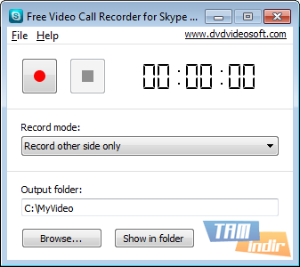 Free Video Call Recorder for Skype Ekran Görüntüleri - 1