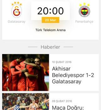 Galatasaray SK Ekran Görüntüleri - 2