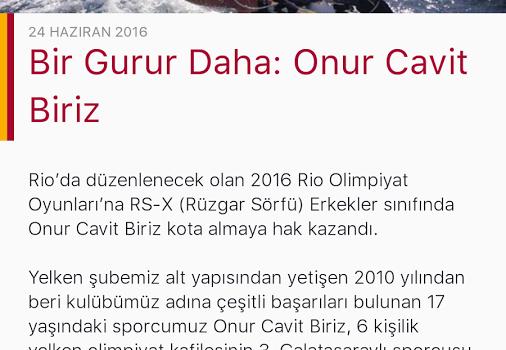 Galatasaray SK Ekran Görüntüleri - 3