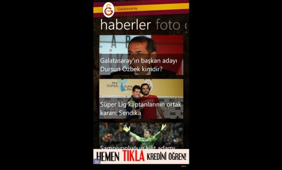 Galatasaray Ekran Görüntüleri - 4