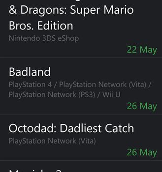 Game Calendar Ekran Görüntüleri - 2