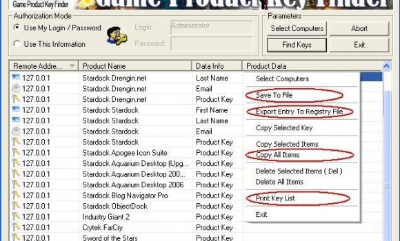 Game Product Key Finder Ekran Görüntüleri - 1