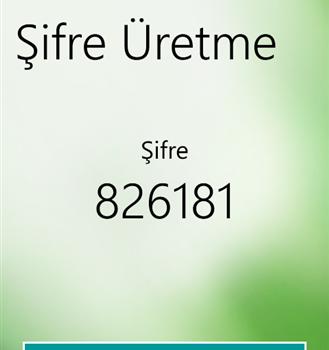 Garanti Cep Şifrematik Ekran Görüntüleri - 1