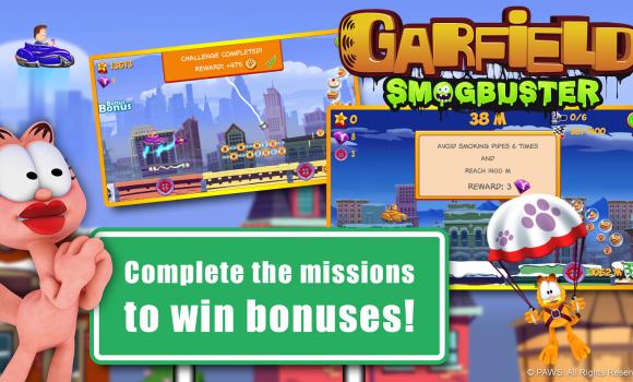 Garfield Smogbuster Ekran Görüntüleri - 1