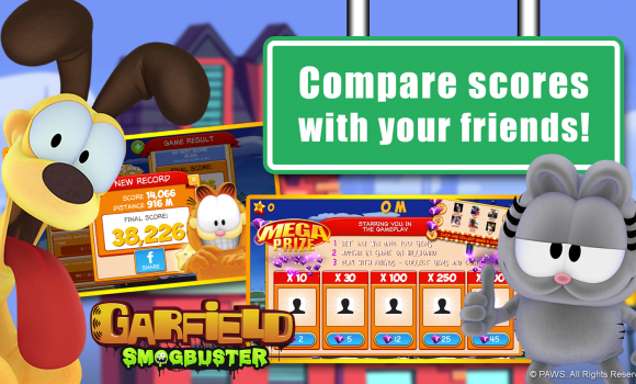 Garfield Smogbuster Ekran Görüntüleri - 2