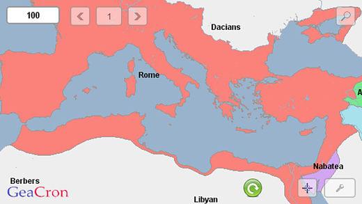 GeaCron History Maps Ekran Görüntüleri - 1