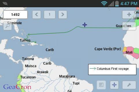 GeaCron History Maps Ekran Görüntüleri - 4