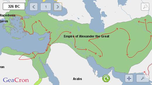GeaCron History Maps Ekran Görüntüleri - 3