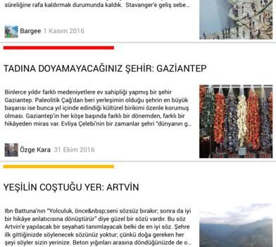 Gezimanya Ekran Görüntüleri - 2