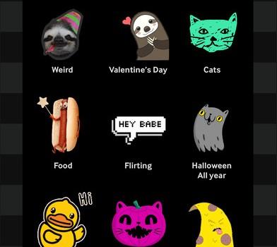 GIPHY Stickers Ekran Görüntüleri - 4