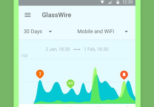 GlassWire Ekran Görüntüleri - 4