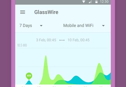 GlassWire Ekran Görüntüleri - 1