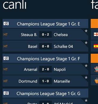 GoalLive Ekran Görüntüleri - 5