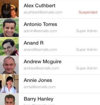 Google Admin Ekran Görüntüleri - 3