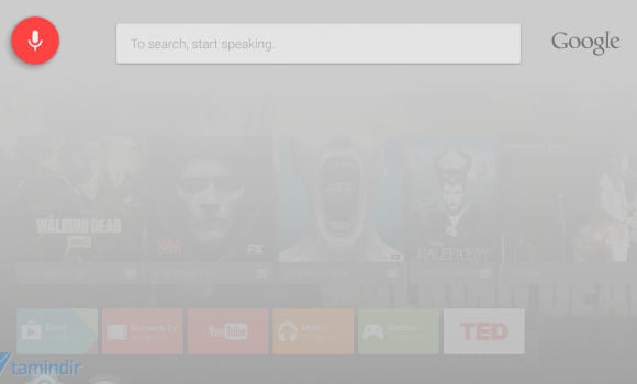 Google app for Android TV Ekran Görüntüleri - 3