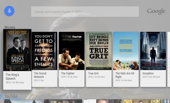 Google app for Android TV Ekran Görüntüleri - 2
