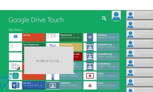 Google Drive Touch Ekran Görüntüleri - 1
