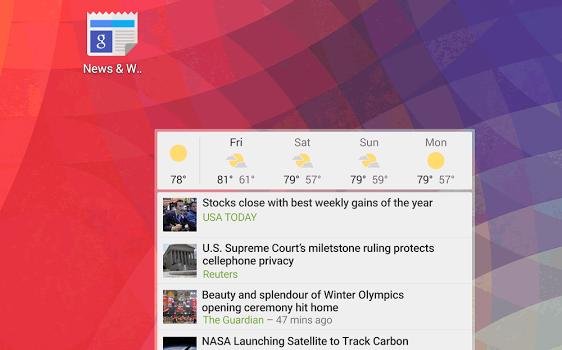 Google Haberler ve Hava Durumu Ekran Görüntüleri - 1