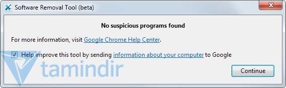 Google Software Removal Tool Ekran Görüntüleri - 2